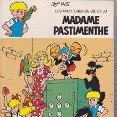 Cómics: COMIC LES AVENTURES DE GIL ET JO MADAME PASTIMENTHE AUTOR JEF NYS. Lote 32421362