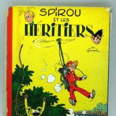 Cómics: SPIROU ET LES HERITIERS FRANQUIN Nº 4 SPIROU ET FANTASIO ED DUPUIS 1965 EN FRANCÉS. Lote 32473159