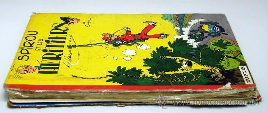 Cómics: Spirou et les Heritiers Franquin Nº 4 Spirou et Fantasio Ed Dupuis 1965 en francés - Foto 2 - 32473159