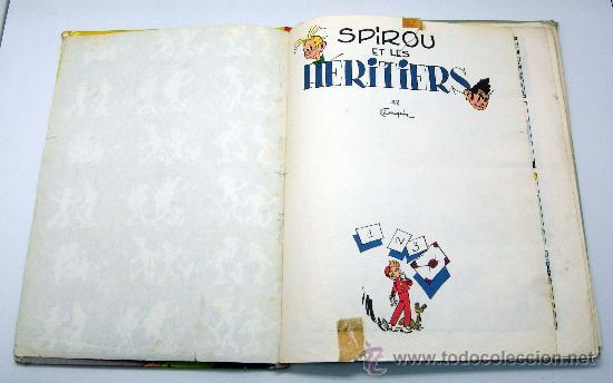 Cómics: Spirou et les Heritiers Franquin Nº 4 Spirou et Fantasio Ed Dupuis 1965 en francés - Foto 3 - 32473159