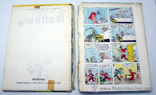 Cómics: Spirou et les Heritiers Franquin Nº 4 Spirou et Fantasio Ed Dupuis 1965 en francés - Foto 4 - 32473159
