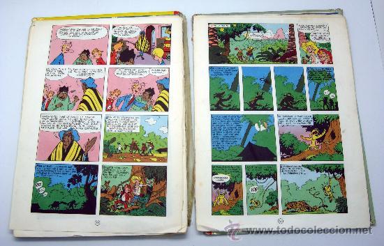 Cómics: Spirou et les Heritiers Franquin Nº 4 Spirou et Fantasio Ed Dupuis 1965 en francés - Foto 5 - 32473159