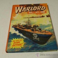 Cómics: WARLORD FOR BOYS 1981 - THE BEST OF WAR ACTION (1980, TAPA DURA MBE). Lote 33332046