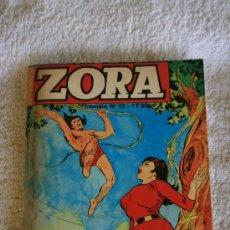 Cómics: ZORA Nº 12. KALI LE FILS DE LA JUNGLE. Lote 33322783