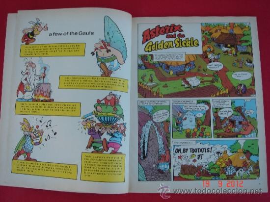 Cómics: ASTERIX AND THE GOLDEN SICKLE. EDICIONES DEL PRADO, AÑO 1989. GOSCINNY Y UDERZO - Foto 2 - 33346025