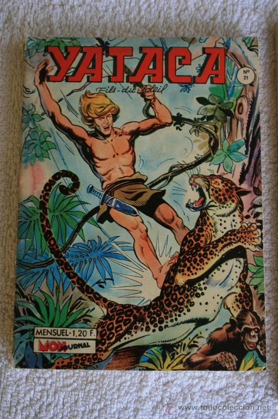 YATACA FILS DU SOLEIL. L'HOMME A LA HACHE. Nº 21. (Tebeos y Comics - Comics Lengua Extranjera - Comics Europeos)