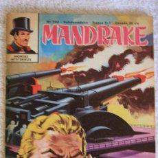 Cómics: MANDRAKE. LES DEUX VISAGES DU MYSTERE. Lote 33365717