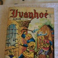 Cómics: IVANHOE. Nº 28 ALBUM . LE BANNI. Lote 33365757