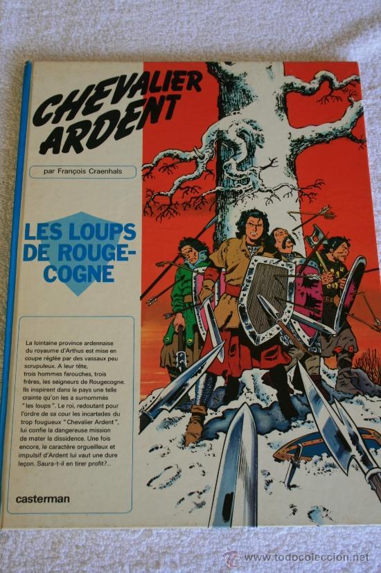 CHEVALIER ARDENT. LES LOUPS DE ROUGE-COGNE PAR (Tebeos y Comics - Comics Lengua Extranjera - Comics Europeos)