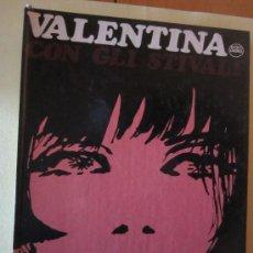 Cómics: VALENTINA CON GLI STIVALI- GUIDO CREPAX- ED. EN ITALIANO. Lote 34089169