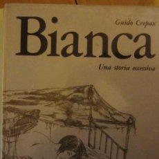 Cómics: BIANCA, UNA STORIA ECCESSIVA- GUIDO CREPAX- MORGAN EDIZ. 1972- EDICION EN ITALIANO. Lote 34090082