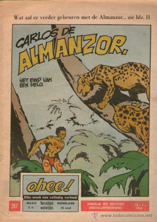 LUIS DE ALMANZOR - DE ANGEL PARDO - OHEE 267 - EDITADO EN BELGICA - AÑO 1968 (Tebeos y Comics - Comics Lengua Extranjera - Comics Europeos)