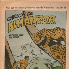Cómics: LUIS DE ALMANZOR - DE ANGEL PARDO - OHEE 267 - EDITADO EN BELGICA - AÑO 1968. Lote 34950745