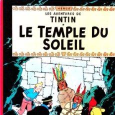 Cómics: LES AVENTURES DE TINTIN--LE TEMPLE DU SOLEIL--CASTERMAN 1977. Lote 35014644