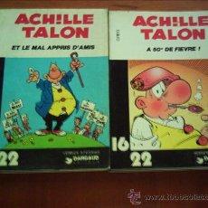 Cómics: AQUILES TALON. 16X22. ORIGINALES EN FRANCES. LOTE DE 4 EJEMPLARES. Lote 35234881