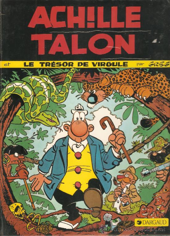 COMIC TAPA DURA EDITADO EN FRANCIA POR DARGAUD ACHILE TALON LE TRESOR DE VIRGULE (Tebeos y Comics - Comics Lengua Extranjera - Comics Europeos)