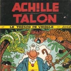 Cómics: COMIC TAPA DURA EDITADO EN FRANCIA POR DARGAUD ACHILE TALON LE TRESOR DE VIRGULE. Lote 35387888