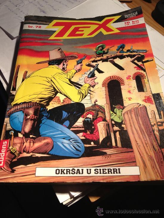 TEX Nº 72, 'OKRSAJ U SIERRI'. EN IDIOMA CROATA. ZAGREB, 2005 (Tebeos y Comics - Comics Lengua Extranjera - Comics Europeos)