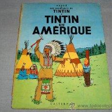Cómics: TINTIN EN AMÉRICA EN FRANCÉS. CASTERMAN 1947.. Lote 36268722