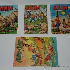 Cómics: 4 COMIC AKIM N. 193, 238, 239 Y AKIM COLOR N. 20. EN FRANCES.. Lote 57522291