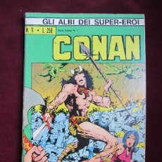Cómics: CONAN IL BARBARO. SERIE CONAN Nº 1 1973. GLI ALBI DEI SUPER-EROI Nº 11. BARRY SMITH. ITALIANO. Lote 36875109