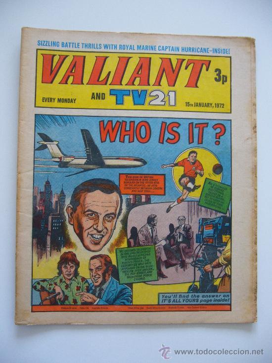 COMIC VALIANT AND TV 21. AÑO 1972. LONDON. (Tebeos y Comics - Comics Lengua Extranjera - Comics Europeos)