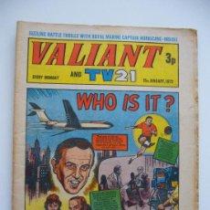 Cómics: COMIC VALIANT AND TV 21. AÑO 1972. LONDON.. Lote 36949334