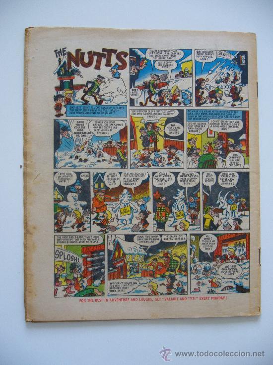 Cómics: Comic Valiant and TV 21. Año 1972. London. - Foto 3 - 36949334