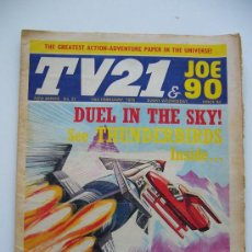 Cómics: COMIC TV 21. JOE 90. AÑO 1970. LONDON. Nº 21.. Lote 36949488