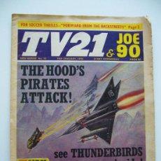 Cómics: COMIC TV 21. JOE 90. AÑO 1970. LONDON. Nº 16.. Lote 36949564