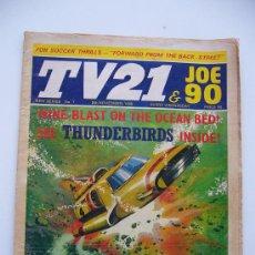 Cómics: COMIC TV 21. JOE 90. AÑO 1969. LONDON. Nº 7.. Lote 36949693