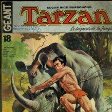 Cómics: TARZAN LE SEIGNEUR DE LA JUNGLE - EN FRANCÉS, GRAN FORMATO 22X28. Lote 37292722