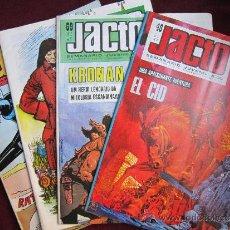 Cómics: LOTE 4 NUMS. SEMANARIO JUVENIL JACTO. 48, 49, 68 Y 69. KRONAN, EL CID DE PALACIOS, OLIVER. PORTUGUÉS. Lote 38561842