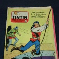 Cómics: TINTIN Nº 423 29 NOVIEMBRE 1956 A COLOR ORIGINAL EN FRANCÉS LE JOURNAL DES JEUNES DE 7 A 77 ANS. Lote 38764997
