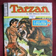 Cómics: TARZAN IL RE DELLA GIUNGLA Nº 11 GIGANTE. EDGAR RICE BURROUGHS. HOGARTH. CON POSTER. 1973. Lote 38844499