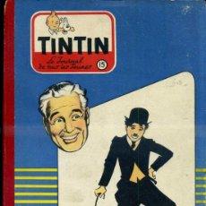 Cómics: TINTIN JOURNAL DE TOUS LES JEUNES RELIURE Nº15 : CHAPLIN CREA CHARLOT. Lote 39042768