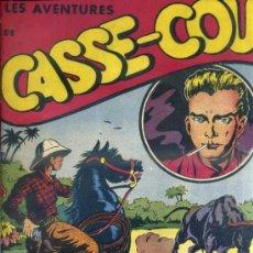 Cómics: LES AVENTURES DE CASSE COU MENSUEL Nº 15 A 19 (1951) EN FRANCÉS. Lote 39059845