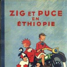 Cómics: ALAIN SAINTOGAN : ZIG ET PUCE EN ETHIOPIE (HACHETTE, 1952) EN FRANCÉS. Lote 39060179