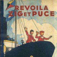 Cómics: ALAIN SAINTOGAN : ZIG ET PUCE REVOILA (HACHETTE, 1947) EN FRANCÉS. Lote 39060199