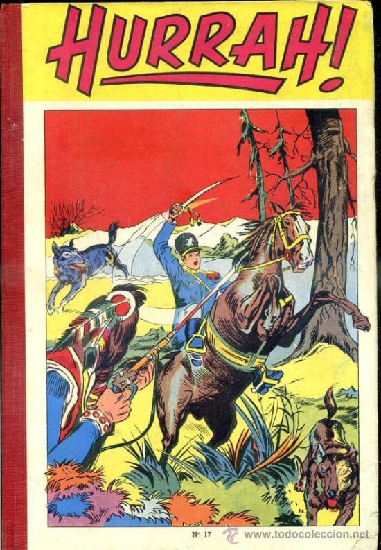 HURRAH! RELIURE NÚMS. 163 A 172 (1949) EN FRANCÉS (Tebeos y Comics - Comics Lengua Extranjera - Comics Europeos)