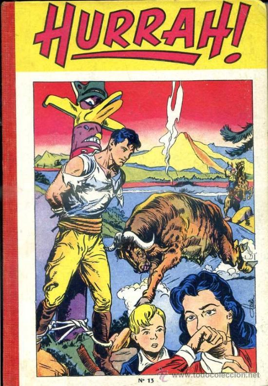 HURRAH! RELIURE NÚMS. 123 A 132 (1956) EN FRANCÉS (Tebeos y Comics - Comics Lengua Extranjera - Comics Europeos)