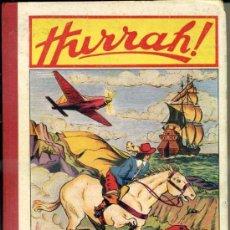 Cómics: HURRAH! RELIURE NÚMS. 1 A 12 - 19º ANNÉE (1953/54) EN FRANCÉS. Lote 39061022