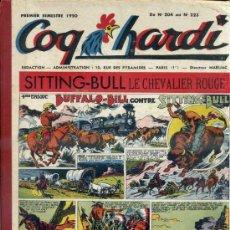 Cómics: COQ HARDY 1º SEMESTRE 1950, NÚMS. 204 A 223 -. EN FRANCÉS. Lote 39061086