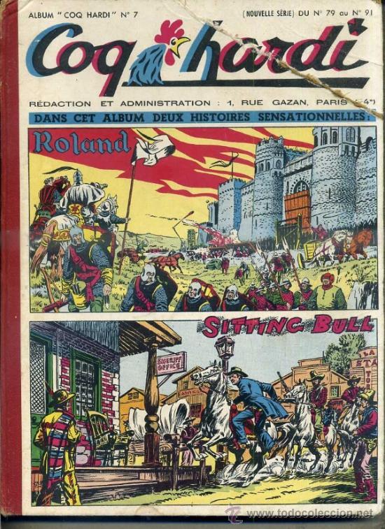 COQ HARDY 1952, NÚMS. 79 A 91 -. EN FRANCÉS (Tebeos y Comics - Comics Lengua Extranjera - Comics Europeos)