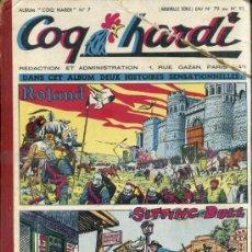 Cómics: COQ HARDY 1952, NÚMS. 79 A 91 -. EN FRANCÉS. Lote 39061139