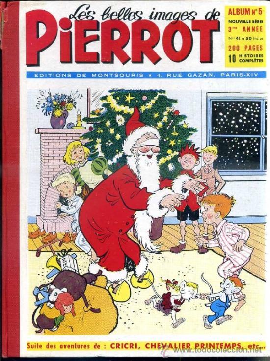 PIERROT ALBUM Nº 5 NOUVELLE SERIE, NÚMS. 41 A 50 (1954). EN FRANCÉS (Tebeos y Comics - Comics Lengua Extranjera - Comics Europeos)