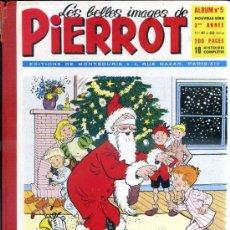 Cómics: PIERROT ALBUM Nº 5 NOUVELLE SERIE, NÚMS. 41 A 50 (1954). EN FRANCÉS. Lote 39061274