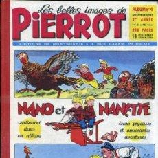 Cómics: PIERROT ALBUM Nº 4 NOUVELLE SERIE, NÚMS. 31 A 40 (1953). EN FRANCÉS. Lote 39061334