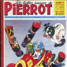 Cómics: PIERROT ALBUM Nº 3 NOUVELLE SERIE, NÚMS. 21 A 30 (1953). EN FRANCÉS. Lote 39061350