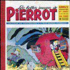 Cómics: PIERROT ALBUM Nº 6 NOUVELLE SERIE, NÚMS. 51 A 60 (1954). EN FRANCÉS. Lote 39061380